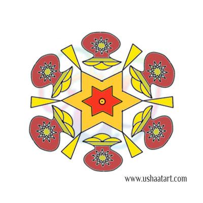 Pongal Kolam 1