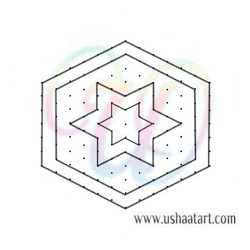 Star Kolam 13