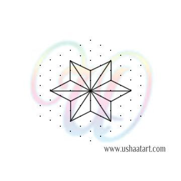 Star Kolam 14