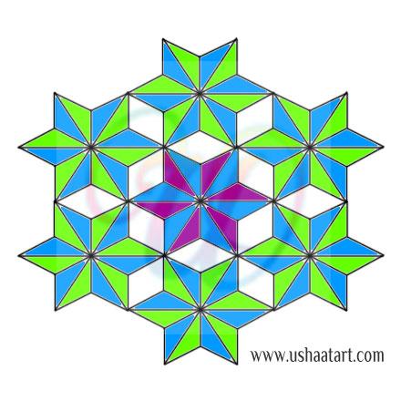 Star Kolam 15