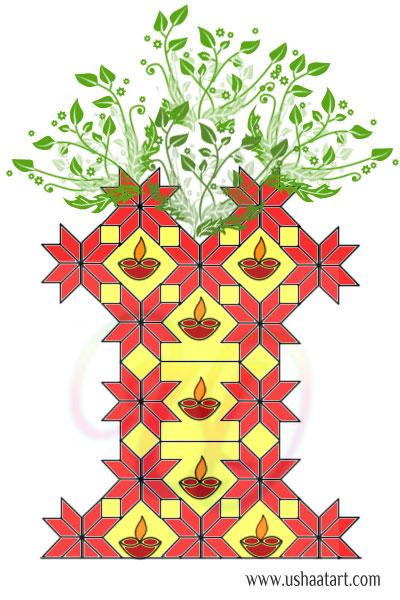 Thulasi Madam Kolam 1