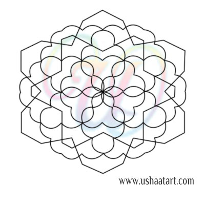 check these out kolam coloring page