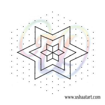 Star Kolam 17