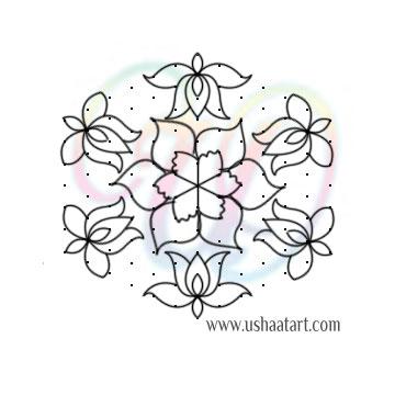 Flower-Kolam93
