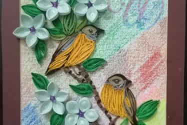Paper Quilling Birds